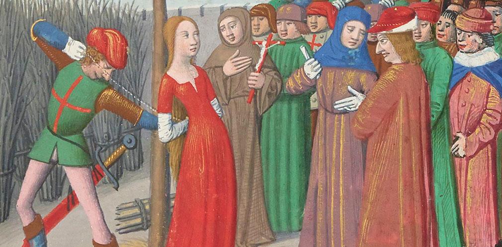 Вигилии на смерть короля Карла VII. Казнь Жанны д'Арк